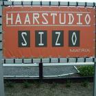 Haarstudio Sizo • Spandoek & frame