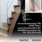 Houtcomfort Diest • Ontwerp advertentie